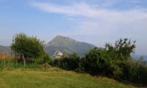 fuga in agriturismo con la vista sul monte prana