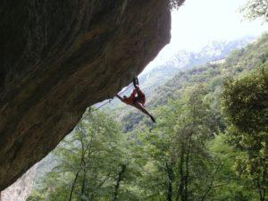 Climbing in Versilia