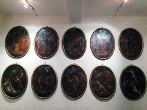 Via Crucis conservata al Museo d'arte sacra di Camaiore