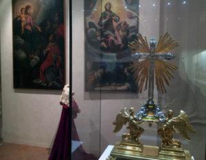 Gli interni del Museo d'Arte Sacra di Camaiore