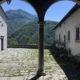 panorama dal logiato esterno della Chiesa di Santa Maria Assunta a Stazzema