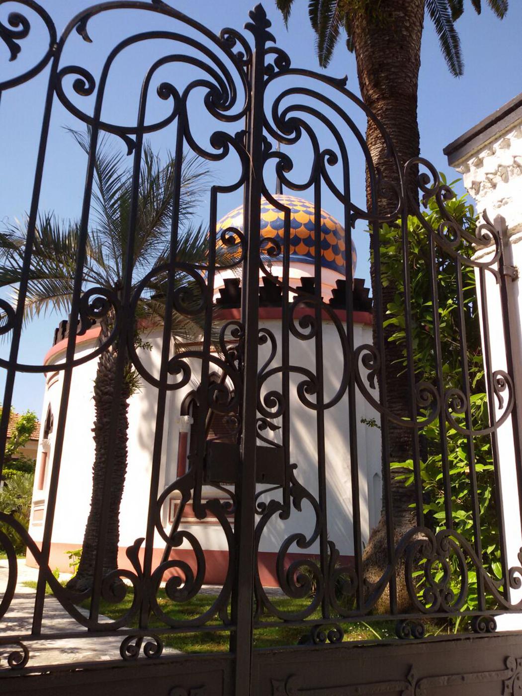 Villa Abba vista dal Cancello