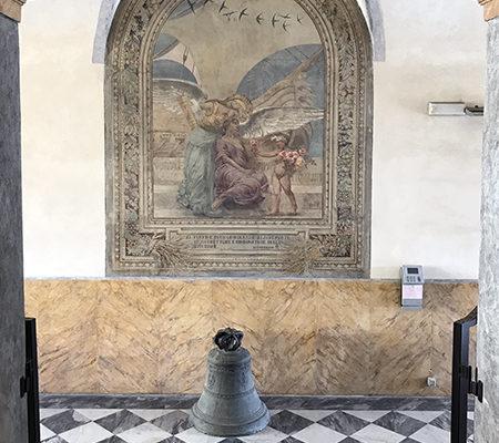 Palazzo delle Muse: W. Bargellini, Italia salvifica, 1927