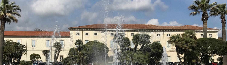 facciata di Palazzo delle Muse