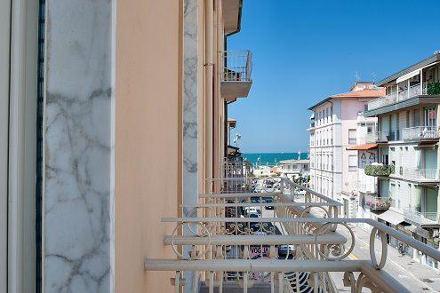Vista da B&B Arsella Viareggio