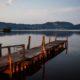 lago massaciuccoli torre del lago crepuscolo