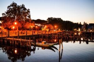 lago massaciuccoli torre del lago tramonto