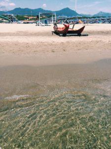 mare e spiaggia a Marina di Pietrasanta