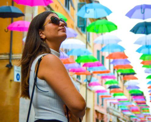 pietrasanta ombrelli istallazione piccola atene