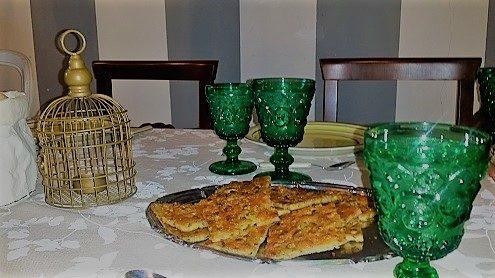 """Scarpaccia in tavola all'affittacamere """"La stagione dell'arte"""" a Camaiore"""