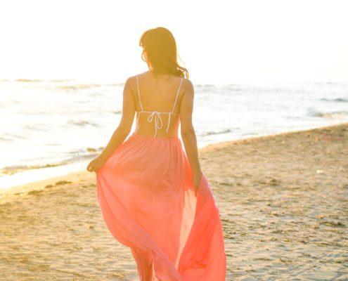 spiaggia tramonto marina di pietrasanta