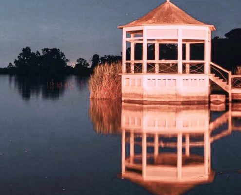 lago massaciuccoli torre del lago notturna