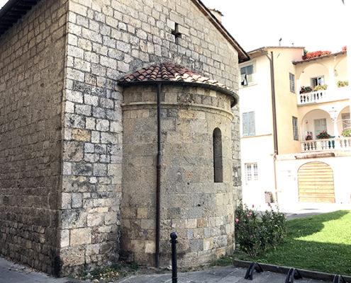 Abside della Chiesa di San Michele a Camaiore
