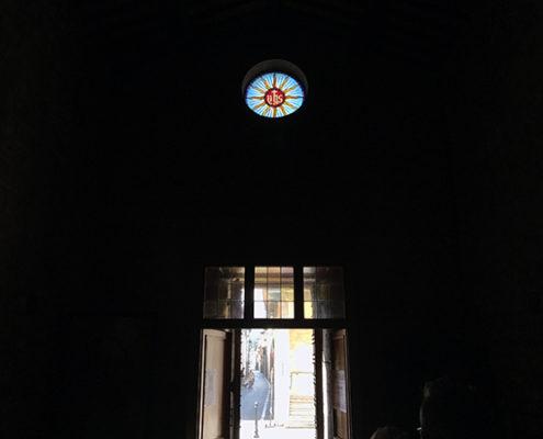 rosone della chiesa di San Michele a Camaiore