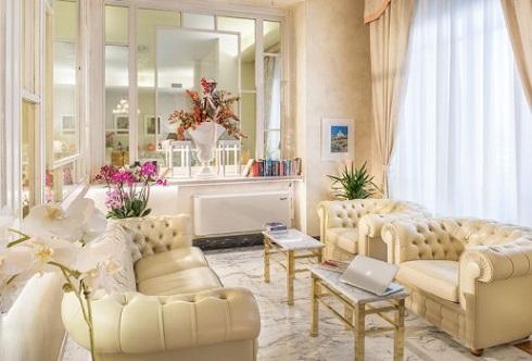 Salotto Hotel Esplanade Viareggio Versilia
