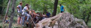 La Roccia dei Pennati- incisioni rupestri- Liguri Apuani