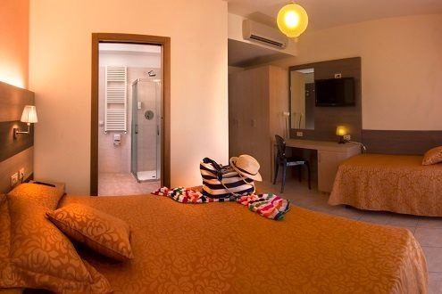 camera tripla hotel dei Tigli Lido di Camaiore Versilia