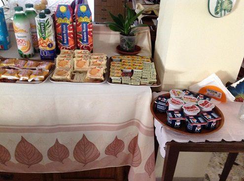 casa diomira lido di camaiore sala colazione