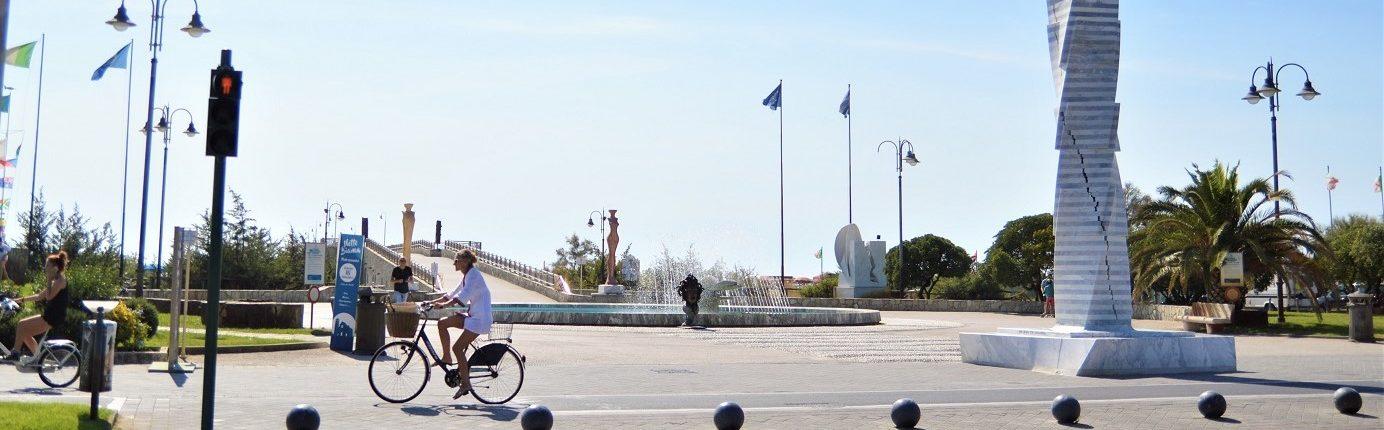 Tonfano Pietrasanta passeggiata bicicletta Versilia