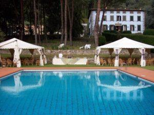 villa montecatini nocchi camaiore piscina