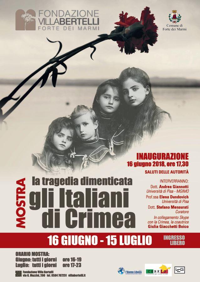 mostra villa bertelli italiani di crimea