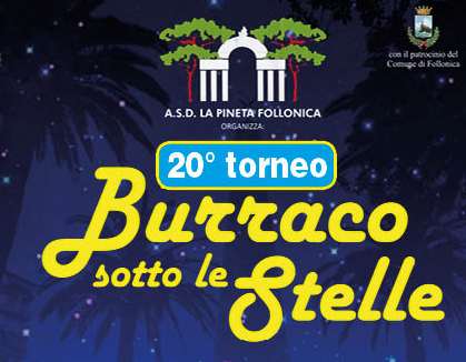 20° Trofeo Burraco sotto le stelle