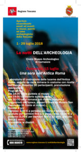 NOTTI DELL'ARCHEOLOGIA: UNA SERA NELL'ANTICA ROMA