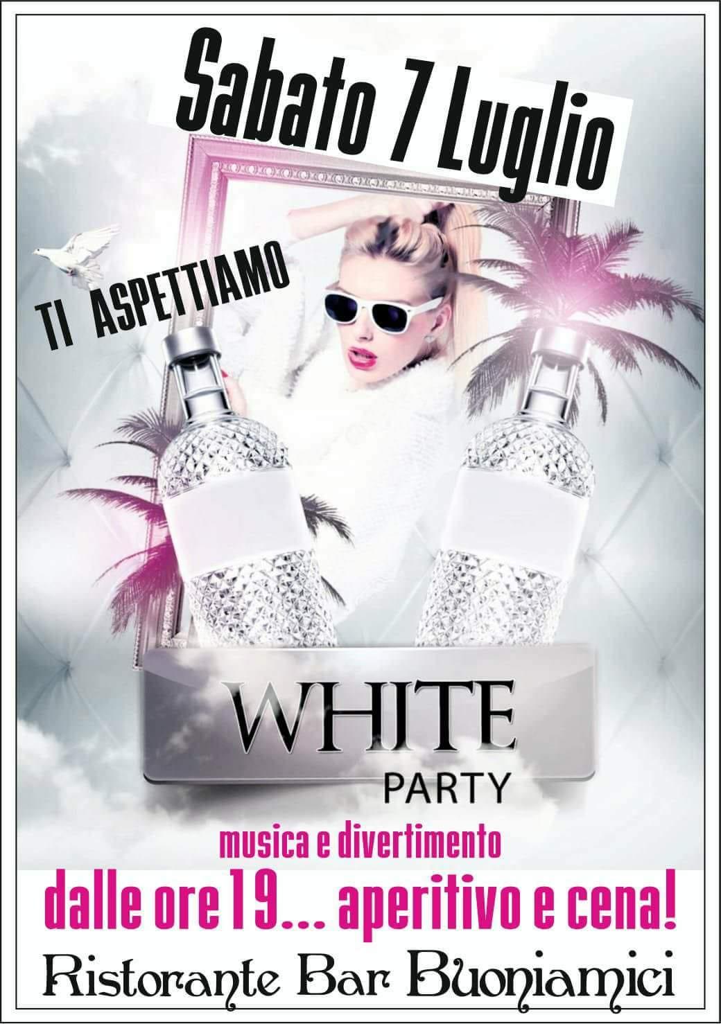 WHITE PARTY AL BAGNO BUONIAMICI A LIDO DI CAMAIORE