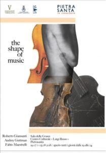 """Mostra """"The shape of the music"""" a Pietrasanta"""