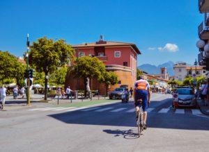 itinerario versilia bicicletta forte dei marmi