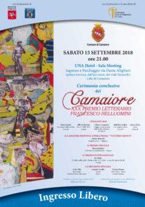 XXX Premio Letterario Camaiore