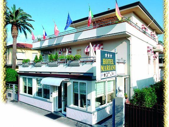 hotel mariani lido di camaiore esterno