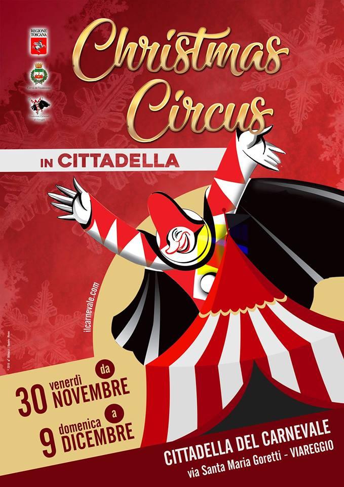Christmas circus in Cittadella - Viareggio