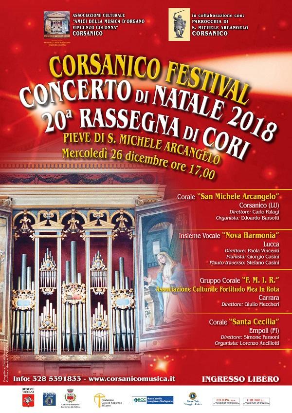 Corsanico Festival - Concerto di Natale
