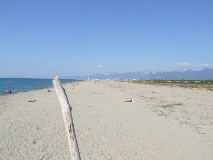 la spiaggia della lecciona