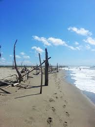 straccali alla spiaggia della lecciona