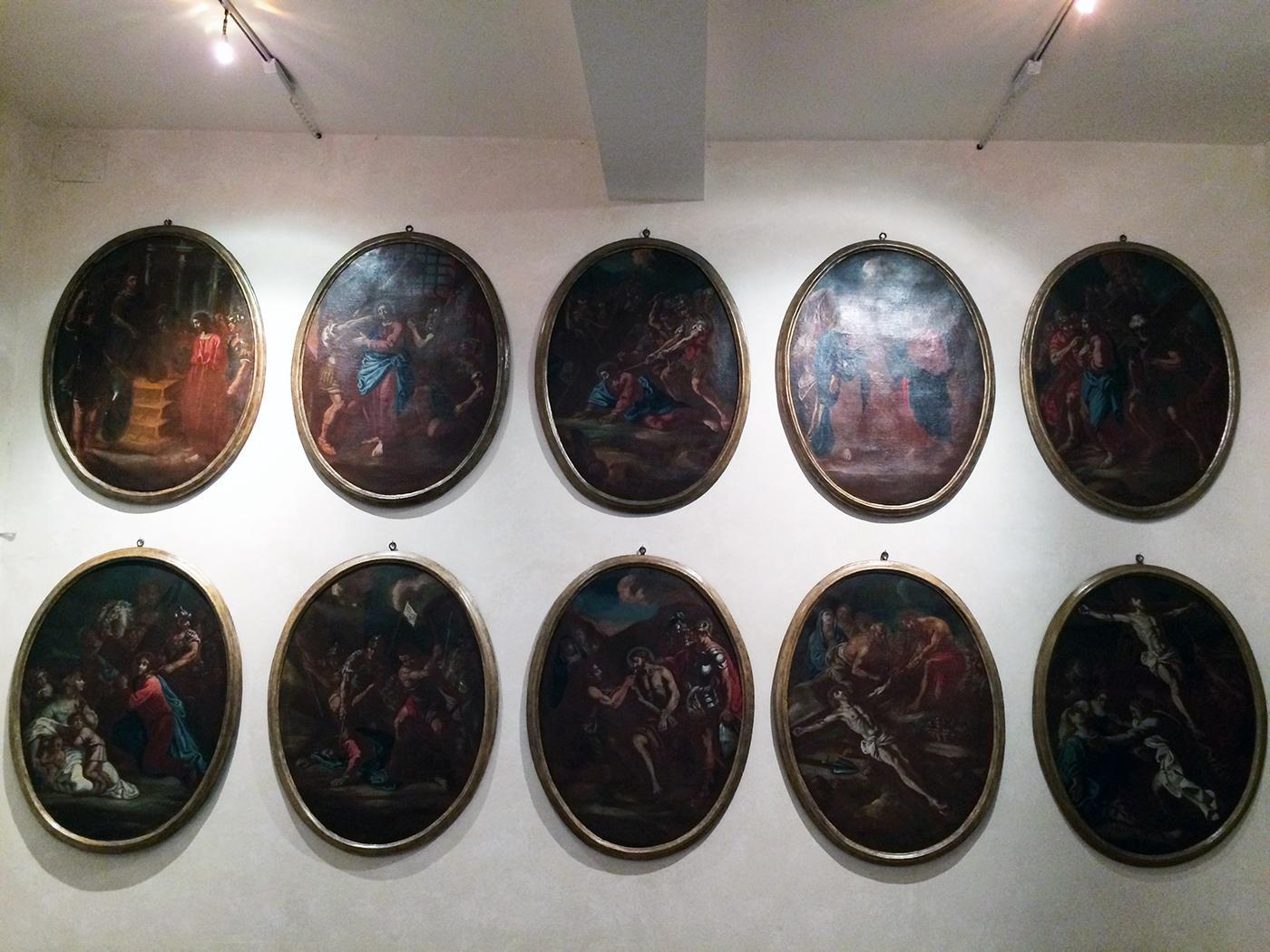 opere del museo d'arte sacra di Camaiore