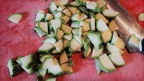 Zucchine per la scarpaccia In Versilia