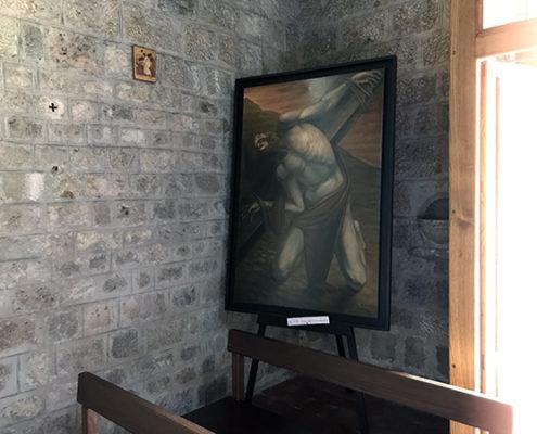 dettaglio interno della chiesa di San Michele