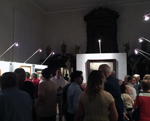 "inaugurazione di ""Impressioni"" - Oreste Marracci al Museo d'Arte Sacra di Camaiore"