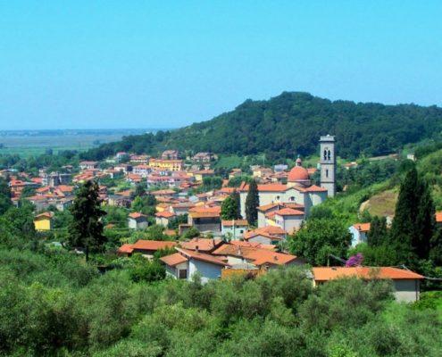 panorama di Bozzano