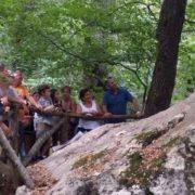 Incisioni rupestri La roccia dei Pennati- Liguri Apuani