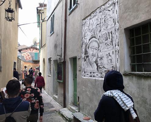 Sgraffiti di Casoli di Camaiore