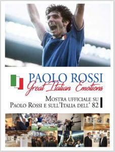 """""""Pablito, Great Italian Emotions"""" la mostra su Paolo Rossi"""