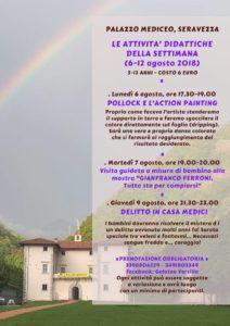 Attività didattiche per bambini al Palazzo Mediceo di Seravezza
