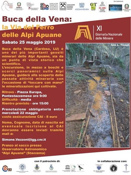 Buca della Vena: la via del ferro delle Alpi Apuane