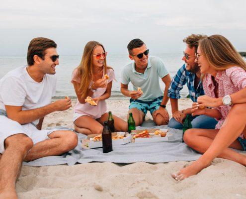 esperienze - picnic sulla spiaggia