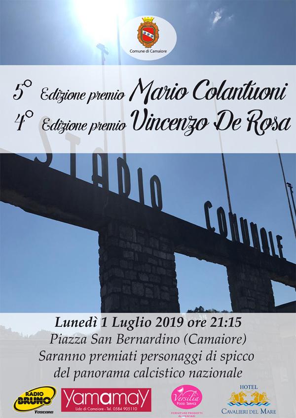 Premio Colantuoni/De Rosa - Camaiore