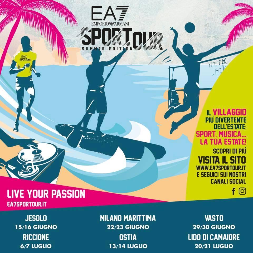 ea7 sport tour