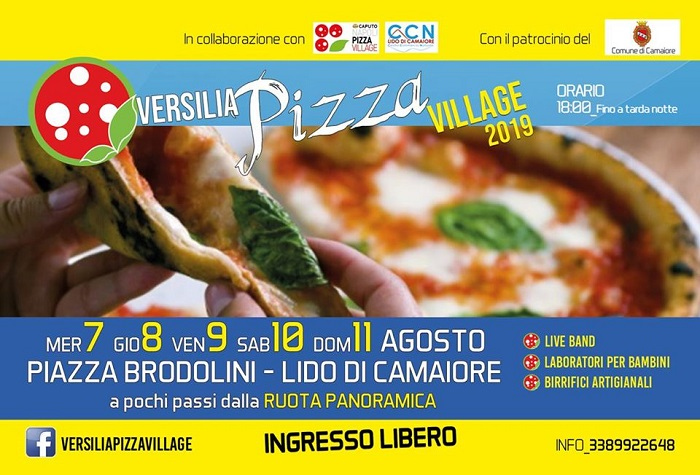 VERSILIA PIZZA VILLAGE